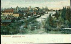 Värmland Eda kommun Charlottenbergs Bruk 1890-talet