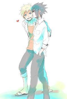 Cute | We Heart It #sasunaru #narusasu