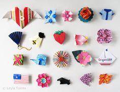 Origami pins - OrigamiSpirit