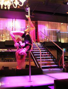 Cours de Pole Dance au Pink Paradise