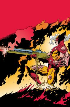 Wolverine number 36 by artist Mark Silverstri. I've always thought this was one of the most bad ass Wolverine covers ever. I thought it would be fun to make an animated GIF from it. Comic Book Characters, Marvel Characters, Comic Character, Comic Books Art, Character Design, Marvel Comics Art, Marvel Heroes, Captain Marvel, Comic Manga