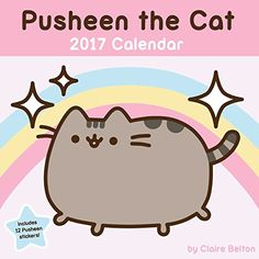 Pusheen the Cat 2017 Wall Calendar by Claire Belton https://www.amazon.com/dp/1449478697/ref=cm_sw_r_pi_dp_x_simjyb8D8VRS4