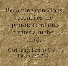 Image result for reconciling the opposites quotes