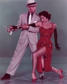 """Cyd Charisse in """"The Band Wagon"""". 1953. Costumes by Mary Ann Nyberg (Oscar nominated for this movie)."""