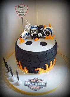 Harley Davidson Cake Ceris Cakes