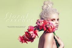 paige reifler model1 Flower Girl: Paige Reifler for Elle Vietnam Beauty by Stockton Johnson