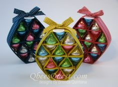 Hershey's Easter Egg Tutorial by Qbee - Cards and Paper Crafts at Splitcoaststampers