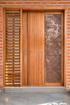 Main Entrance Door Design, Front Door Design Wood, Sliding Door Design, Door Gate Design, Door Design Interior, Entrance Doors, Smart Home Design, Home Room Design, Modern House Design