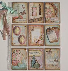 Other: Vintage/Shabby Pocket Letter Page