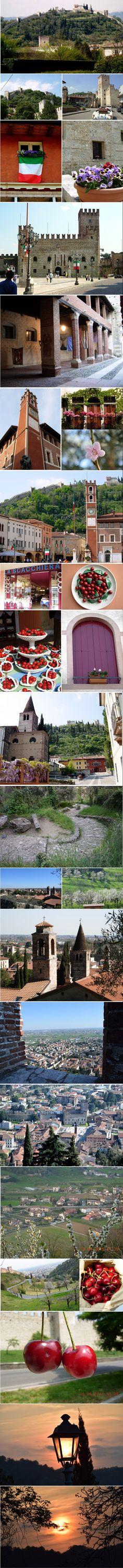 flashes de Maróstica - pequeno borgo medieval situado na província di Vicenza.