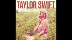 Taylor Swift- The Moment I knew (Audio) - YouTube