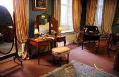 room for photos as lady mary s bedroom camera could be hidden