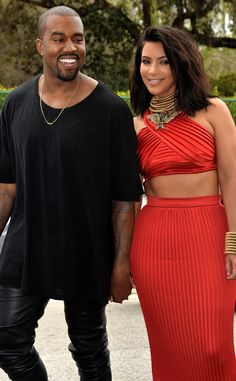 Kim & Kanye from 2015 Grammys: Party Pics | E! Online