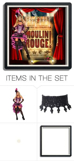 """""""Moulin Rouge"""" by chileez ❤ liked on Polyvore featuring art"""