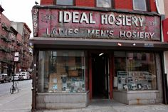 Old store front in Lower East Side - New York City