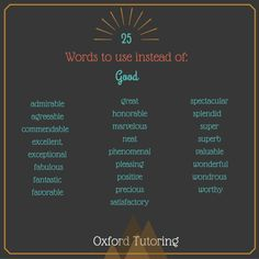 18 Overused Words to Replace When Writing – Oxford Tutoring Book Writing Tips, English Writing Skills, Writing Words, Writing Help, Writing Prompts, Writing Ideas, English Vocabulary Words, English Words, Vocabulary List