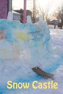 Life with Moore Babies: Snow Castle