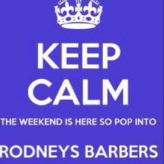 Neat cut, neat place, new website coming soon! Rodney's Barbers in Colchester Essex Colchester Essex, Website Coming Soon, Keep Calm, Letting Go, Let It Be, Barbers, Spaces, Stay Calm, Lets Go