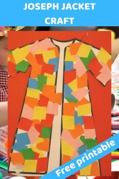 Joseph coat colourful craft for kids. glue and cut - Free Bible lesson for under - Trueway Kids Joseph coat colourful craft for kids. glue and cut - Free Bible lesson for under - Trueway Kids Toddler Bible Crafts, Toddler Bible Lessons, Bible Activities For Kids, Preschool Bible Lessons, Bible Stories For Kids, Bible Story Crafts, Bible Study For Kids, Preschool Bible Crafts, Kids Church Lessons