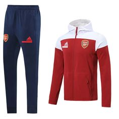 Arsenal 20/21 Red Hoodie Men Jacket Tracksuit Slim Fit – zorrojersey