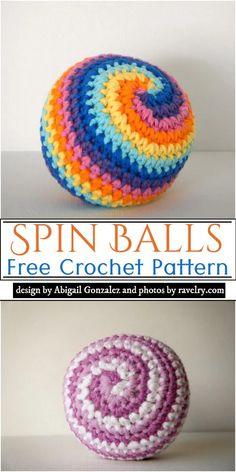 Cotton Crochet Patterns, Crochet With Cotton Yarn, Christmas Crochet Patterns, Thread Crochet, Knitted Toys Patterns, Crochet Ball, Crochet Baby Toys, Free Crochet, Crochet Gifts