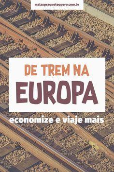5 dicas para você comprar passagens de trem na Europa com até 80% de desconto. É mais barato que Black Friday, mas tem que correr! #europa #viagem #trem