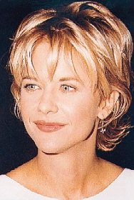 Meg Ryan Short hair styles.
