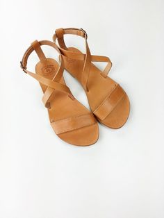 2e6b249ddca9 Open Toe Greek Leather Sandals Leather Sandals Flat