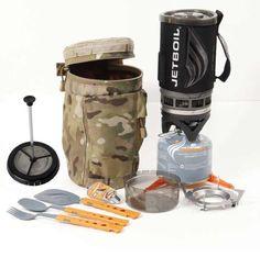 Tactical Assault Systems JetBoil kit. Multicam