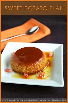 Healthy recipes for healthy meals I LOVE flan... Could this be true?!!