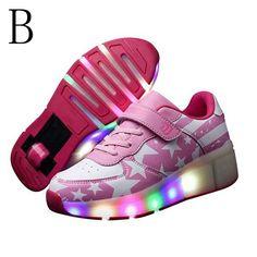 Basket a roulette qui s 39 allume garcon chaussure a for Miroir qui s allume