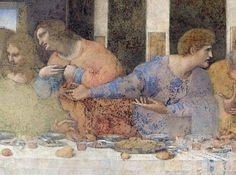 Leonardo da Vinci - The Last Supper, 1495-97 (detail of 227198)