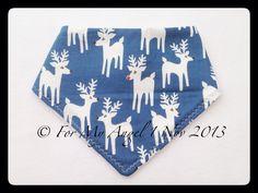 Christmas reindeer bandana bib - The Supermums Craft Fair