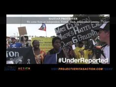 #UnderReported: Clinton Corruption Protested by Haitians at DNC - YouTube