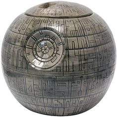 Join the Dark Side, we have cookies! A great gift for any Star Wars fan: The Death StarCookie Jar. High Quality Ceramic Officially Licensed x x Complete with Gift Box Star Wars Death Star, Star Wars Cookies, Ceramic Cookie Jar, Cookie Jars, Biscuit, Nave Star Wars, The Dark Side, Star Wars Jewelry, Shopping