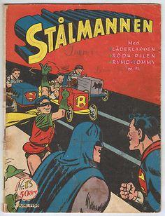 SUPERMAN #13 *SCANDINAVIAN VARIANT* World's Finest #44 DC COMICS 1950 Batman: $19.90 (0 Bids) End Date: Sunday Feb-25-2018 19:46:11 PST Bid…