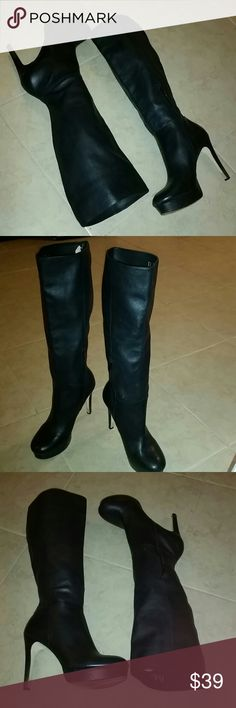 BEAUTIFUL BOOTS REBA..LEATHER Very Good condition.... REBA Shoes Heeled Boots