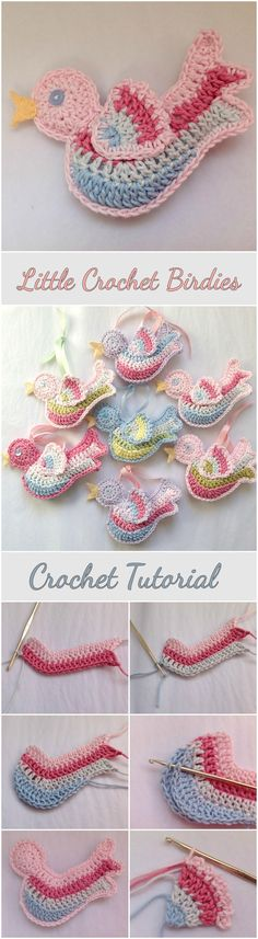 Crochet little Birdies