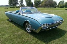 Learn more about All Original: Mile 1961 Ford Thunderbird on Bring a Trailer, the home of the best vintage and classic cars online. My Favorite Year, Ford Thunderbird, Big Bird, Classic Cars Online, Dream Garage, Old Cars, Bodies, Convertible, Lust