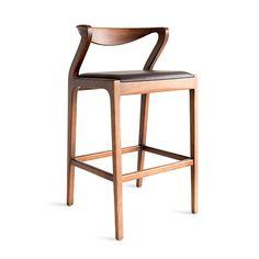 Duda Stool  Contemporary, Wood, Stool by Sossego (=)