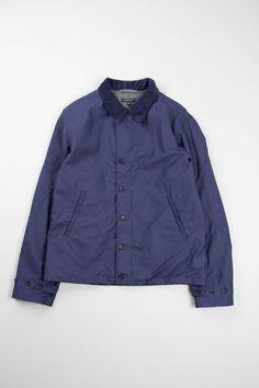 Navy Nyco Reversed Sateen M41 Jacket | Engineered Garments