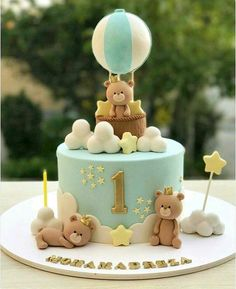 ideas baby boy birthday cupcakes for 2019 cupcakes anniversaire decoration licorne noël recette recipes cupcakes Boys First Birthday Cake, Baby Birthday Cakes, Baby Boy Cakes, Birthday Ideas, Gateau Baby Shower, Baby Shower Cakes, Baby Boy Shower, Teddy Bear Cakes, Babyshower