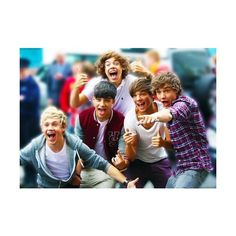 one direction funny  dance ❤ liked on Polyvore