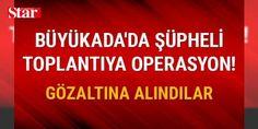İstanbul Büyükada'daki bir otelde yapılan toplantıya operasyon!: 1233982 - Büyükada'da otele baskın yapan polis 9 kişiyi gözaltına aldı. Alınan istihbarat üzerine polis Büyükada'daki bir otele baskın düzenledi. Baskında  insan hakları savunucularının korunmasına yönelik eğitim programı  düzenlediği iddia edilen 9 kişi gözaltına alındı. Polisin gözaltına aldığı şüphelilerin Yurttaşlık Derneği'nden Nalan Erkem, Kadın Koalisyonu'ndan İlknur Üstün, Uluslararası Af Örgütü Türkiye Direktörü İdil…