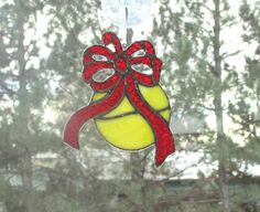 Christmas Ornament with Ribbon