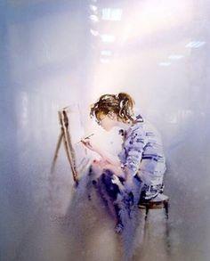 The artist.
