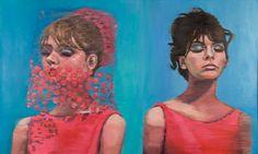 """Faithless, oil on canvas, 36"""" x 60"""", 2014"""