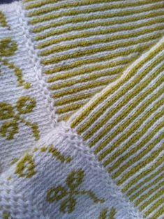 Vi 2 i sommar Knit Mittens, Mitten Gloves, Knitting Socks, Hand Knitting, Knitting Patterns, Hobbies And Crafts, Diy And Crafts, Fair Isle Knitting, Fair Isles