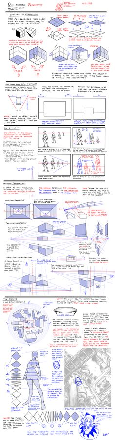 Nsio explains: Perspective by Nsio on deviantART via PinCG.com