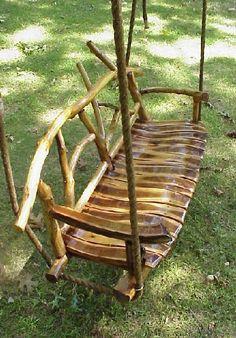 Natural Tree Furniture Rustic TREE Swing